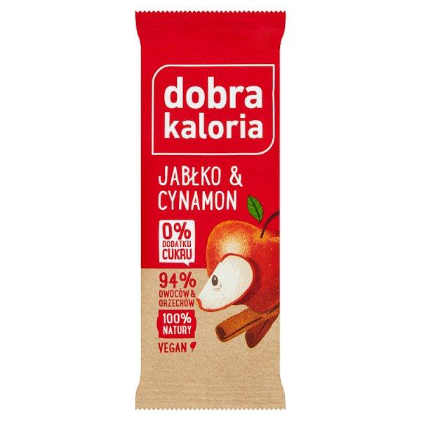 Dobra Kaloria Baton owocowy jabłko & cynamon 35 g