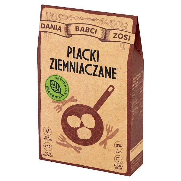 Dania Babci Zosi Placki ziemniaczane 200 g (2 x 100 g)