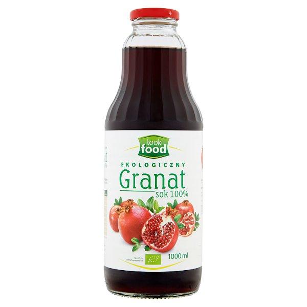 Look Food Ekologiczny sok 100% granat 1000 ml