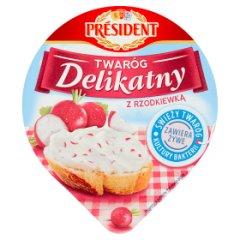 Président Twaróg Delikatny z rzodkiewką 150 g