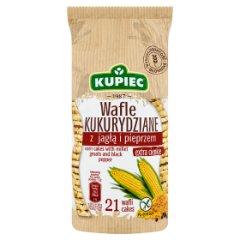 Kupiec Wafle kukurydziane z jagłą i pieprzem 105 g (21 sztuk)