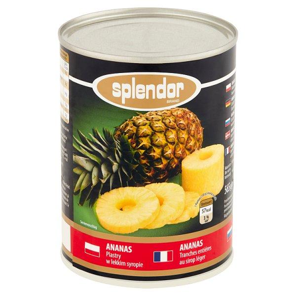Ananasy plastry Splendor