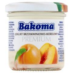 Bakoma Premium Jogurt brzoskwiniowo-morelowy 150 g
