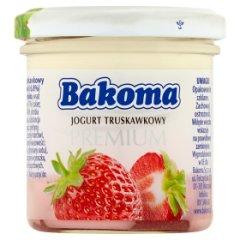 Bakoma Premium Jogurt truskawkowy 150 g
