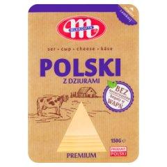 Mlekovita Ser Polski z dziurami premium 150 g