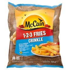 Frytki Mc Cain karbowane