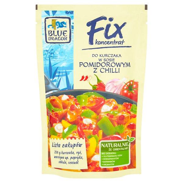 Blue Dragon Fix koncentrat do kurczaka w sosie pomidorowym z chilli 145 g