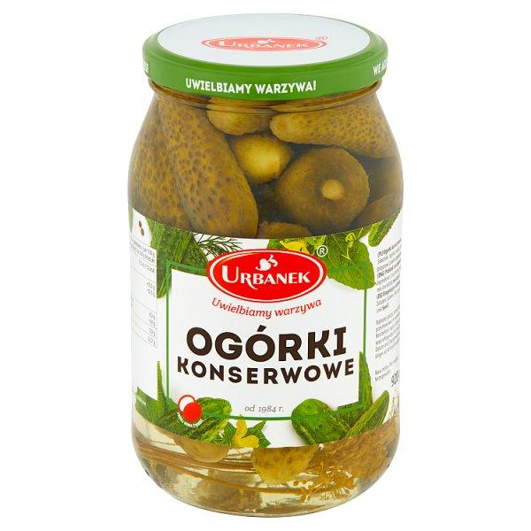 Urbanek Ogórki konserwowe 920 g