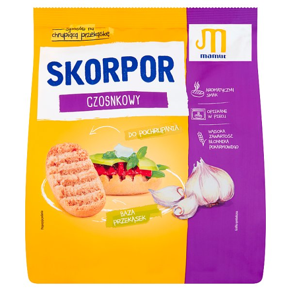 Mamut Skorpor czosnkowy 200 g