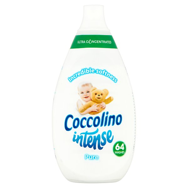 Coccolino Intense Pure Płyn do płukania tkanin 960 ml (64 prania)