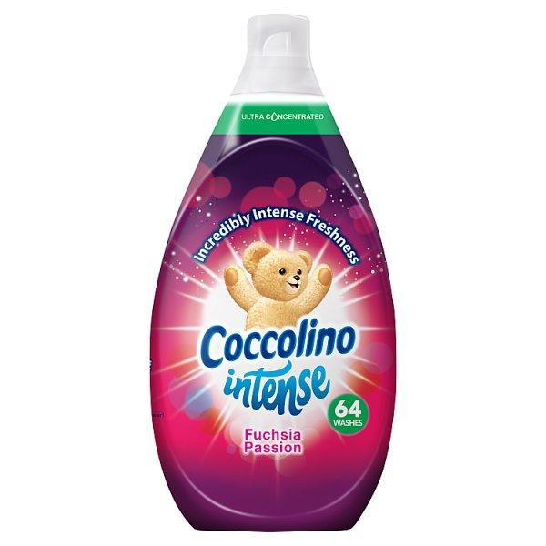Coccolino Intense Fuchsia Passion Płyn do płukania tkanin 960 ml (64 prania)