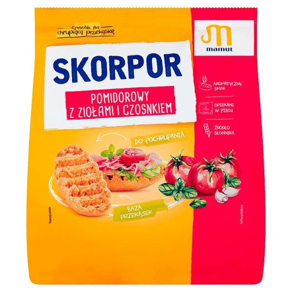 Mamut Skorpor pomidorowy z ziołami i czosnkiem 200 g