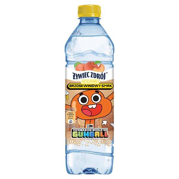 Woda Żywiec Zdrój o smaku brzoskwiniowym niegazowana