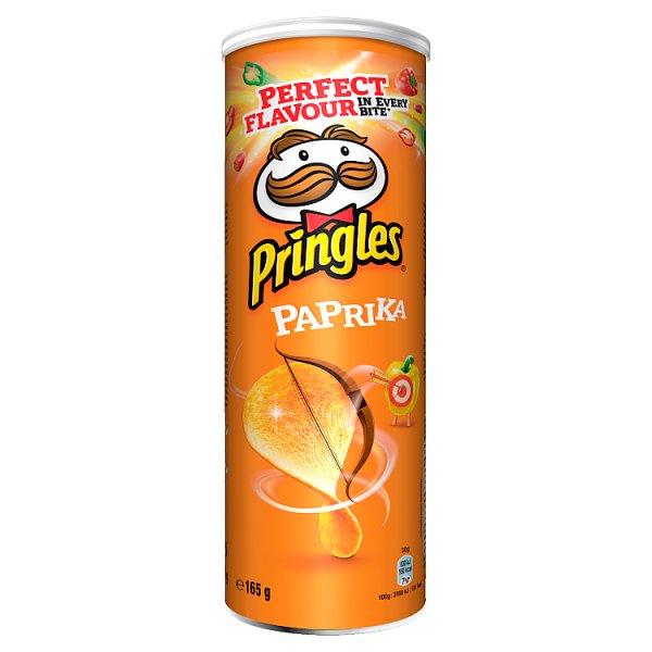 Chipsy Pringles paprika
