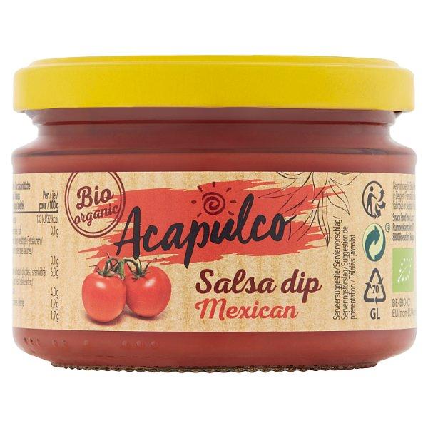 Acapulco Sos salsa dip meksykański Bio 260 g