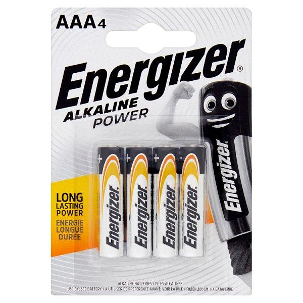 Baterie Energizer AAA LR03 4szt/op