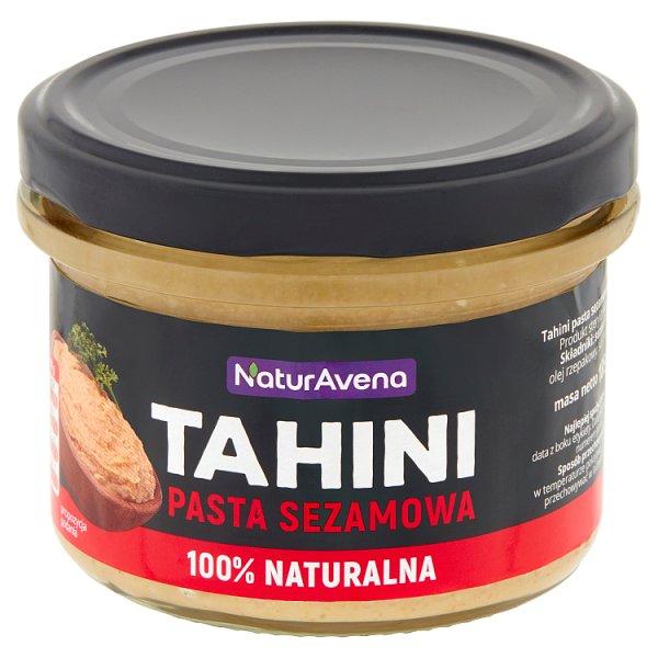 NaturAvena Tahini pasta sezamowa 185 g