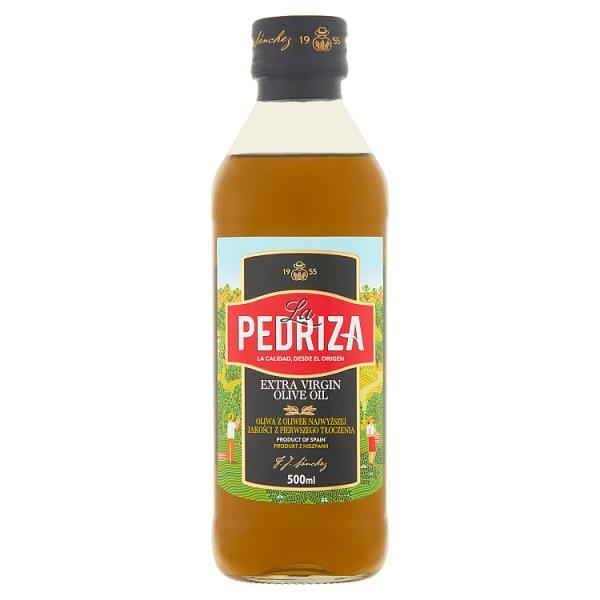 La Pedriza Oliwa z oliwek najwyższej jakości z pierwszego tłoczenia 500 ml