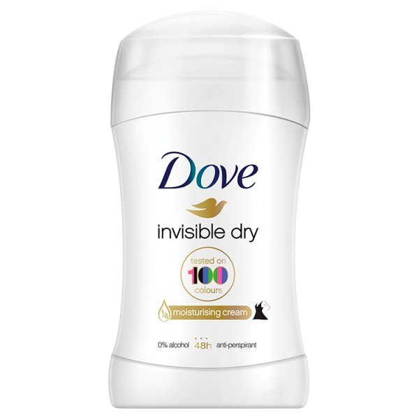 Dezodorant Dove Invisible Dry