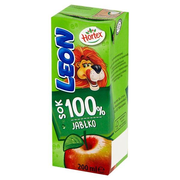 Hortex Leon Sok 100% jabłko 200 ml