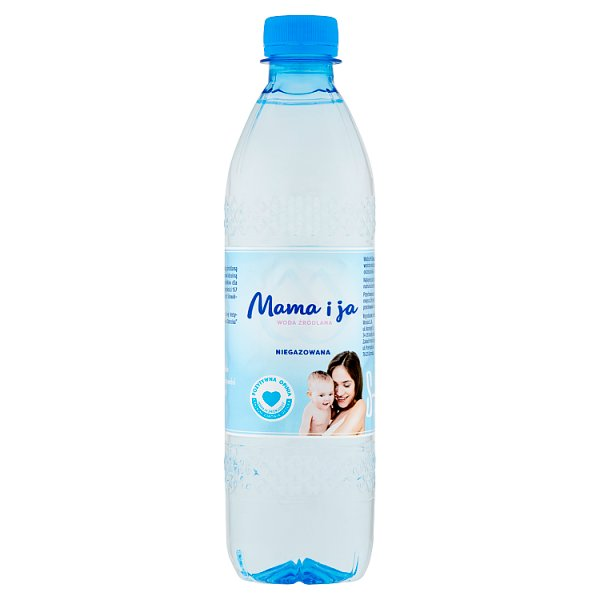 Mama i ja Woda źródlana niegazowana 500 ml