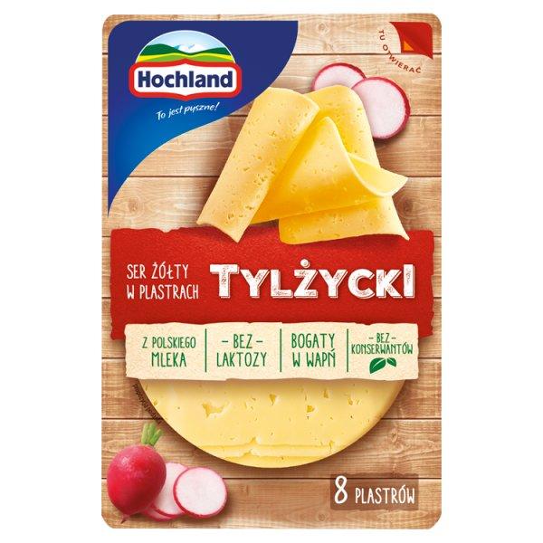 Hochland Ser żółty Tylżycki w plastrach 135 g