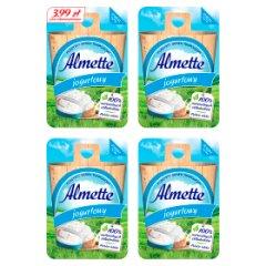 Almette Puszysty serek twarogowy jogurtowy