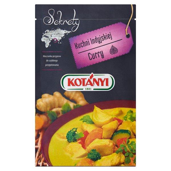 Kotányi Sekrety Kuchni Indyjskiej Curry Mieszanka przypraw 20 g