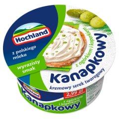 Hochland Kanapkowy Serek kremowy z ogórkiem i koperkiem 130 g