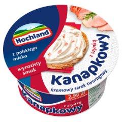 Hochland Kanapkowy serek kremowy z szynką 130 g