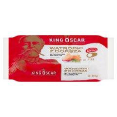 Wątróbki z dorsza King Oscar