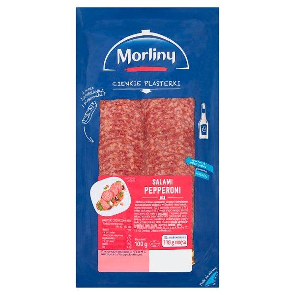 Morliny Salami pepperoni 100 g
