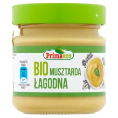 Primaeco Bio musztarda łagodna 170 g