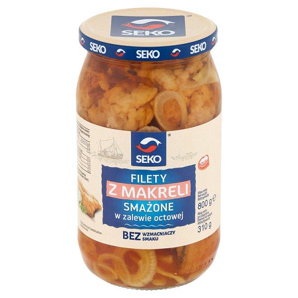 Seko Filety z makreli smażone w zalewie octowej 800 g