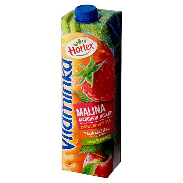 Hortex Vitaminka Sok malina marchew jabłko 1 l