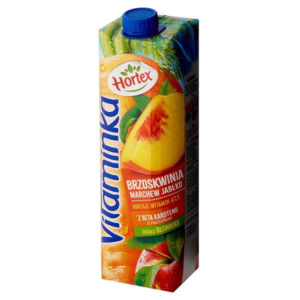 Hortex Vitaminka Sok brzoskwinia marchew jabłko 1 l