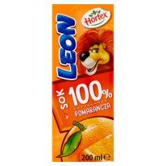 Hortex Leon Sok 100% pomarańcza 200 ml