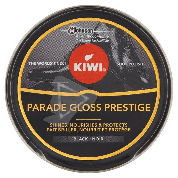 Kiwi Parade Gloss Prestige Pasta do butów czarna 50 ml