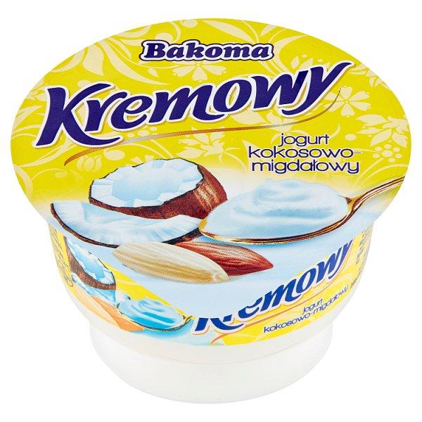 Jogurt Bakoma Kremowy kokosowo - migdałowy