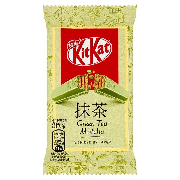 KitKat Green Tea Matcha Paluszek waflowy w białej czekoladzie 41,5 g