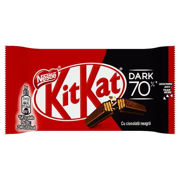 KitKat Paluszki waflowe w czekoladzie deserowej 41,5 g
