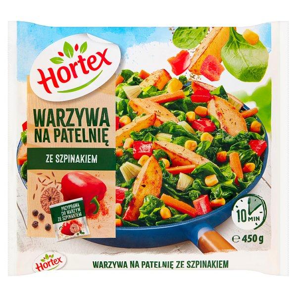Hortex Warzywa na patelnię ze szpinakiem 450 g