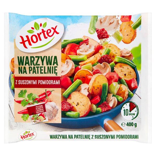 Hortex Warzywa na patelnię z suszonymi pomidorami 400 g
