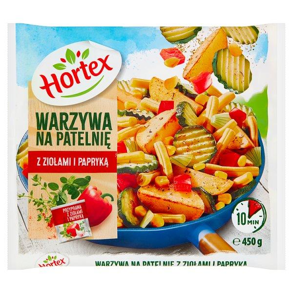 Warzywa na patelnię z ziołami i papryką Hortex