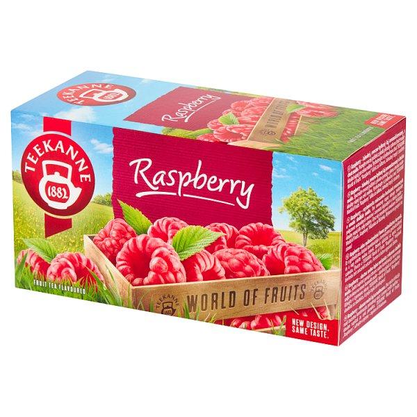 Teekanne World of Fruits Raspberry Aromatyzowana mieszanka herbatek owocowych 50 g (20 x 2,5 g)