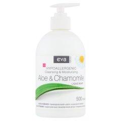 Eva Natura Hipoalergiczne mydło w płynie aloes & rumianek 500 ml