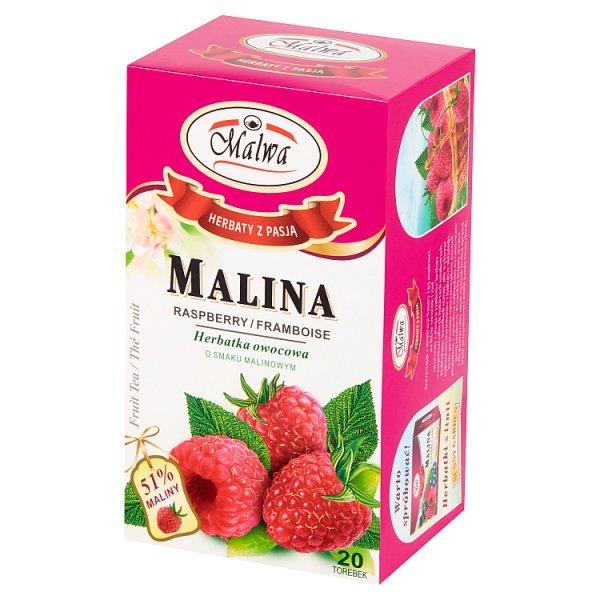 Malwa Herbatka owocowa malina 40 g (20 x 2 g)