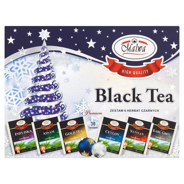 Malwa Black Tea Classic Zestaw 6 herbat czarnych 45 g (6 x 5 x 1,5 g)