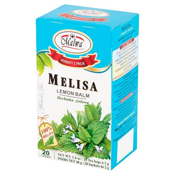 Malwa Herbatka ziołowa melisa 40 g (20 x 2 g)