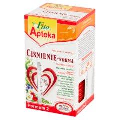 Fito Apteka Suplement diety herbatka ziołowa ciśnienie-norma 40 g (20 torebek)